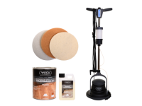 Cleanfix Floormac Einscheibenmaschine GRATIS Woca Pflegeöl-Set